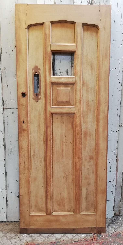 DE0850 RECLAIMED HARDWOOD COTTAGE STYLE FRONT DOOR