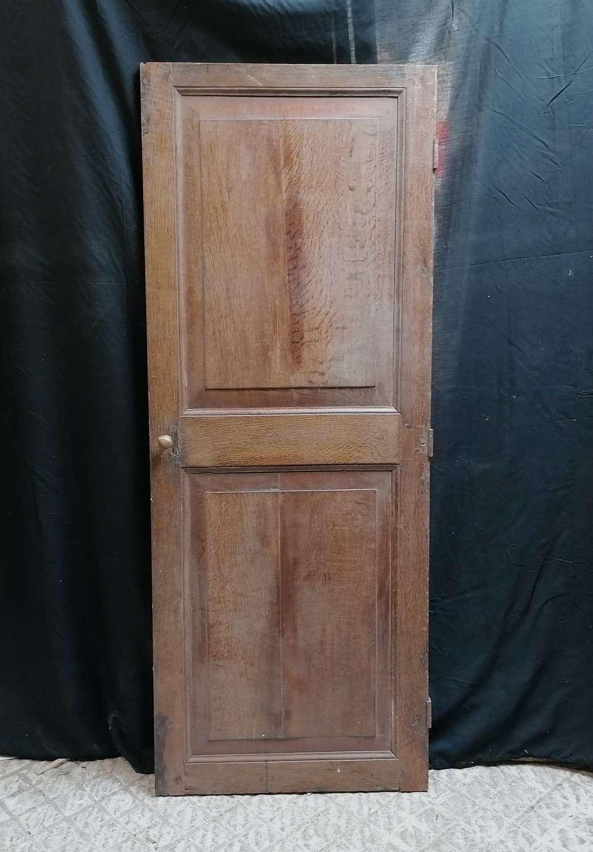 CS0032 RECLAIMED RUSTIC GEORGIAN OAK PANELLED CUPBOARD DOOR