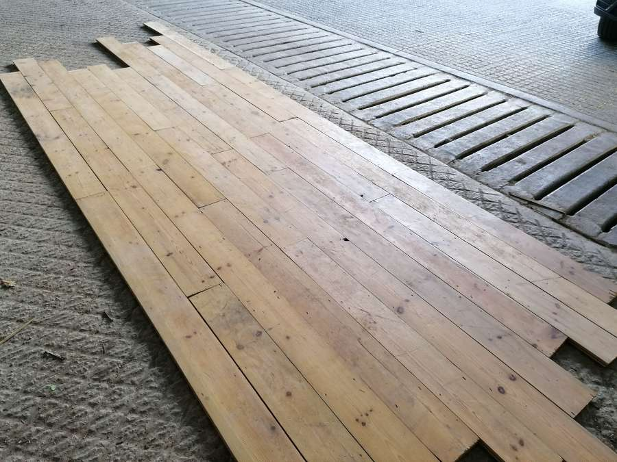 M1435 RECLAIMED TONGUE AND GROOVE PINE TIMBER 20SQM AVAILABLE