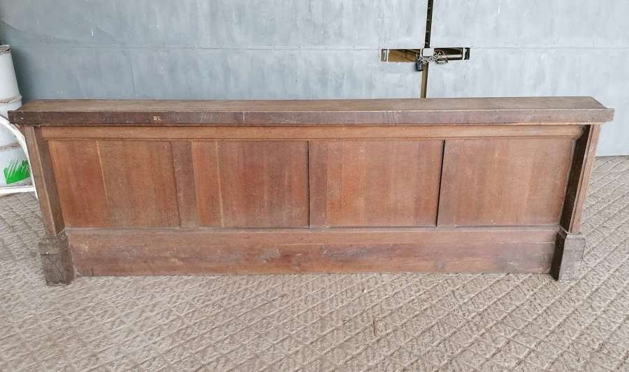 M1448 RECLAIMED TRADITIONAL STYLE OAK CHURCH FRONTAL / PANELLING