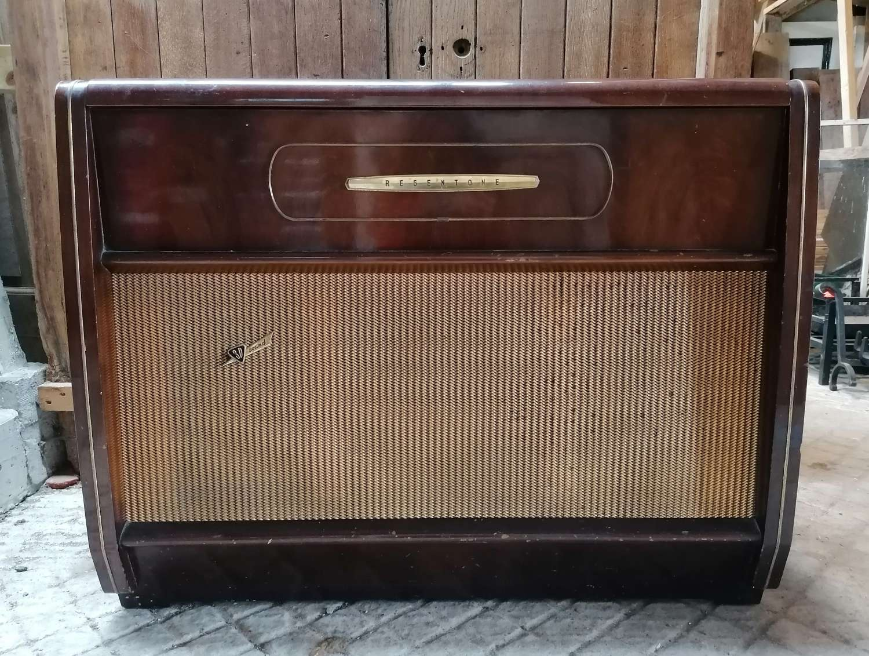 M1460 1950's VINTAGE RETRO REGENTONE RADIOGRAM TV / FILM PROP?