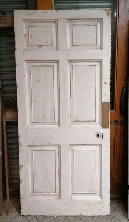 DB0689 LATE GEORGIAN 6 PANEL PINE INTERNAL / EXTERNAL DOOR